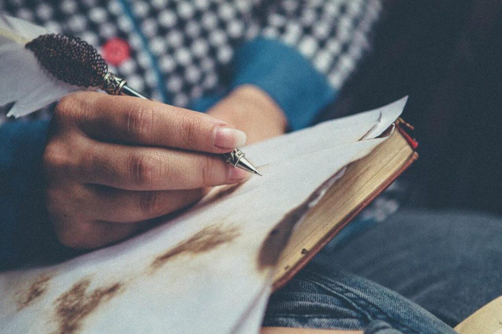 carta manuscrita, carta perfeita