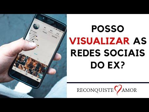 Posso visualizar as redes sociais do ex?